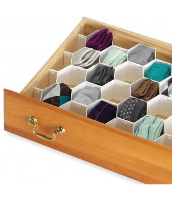 Whitmor 6025-3928 8-Piece Honeycomb Drawer Organizer