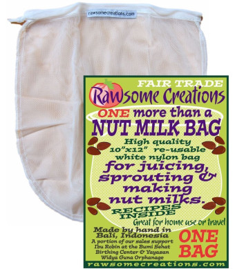 More than a Nut Milk Bag