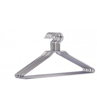 2 Pack of Organize It All 1363 Chrome Hangers (16 Hangers Total)