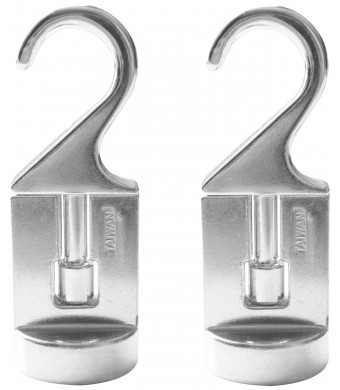 Cooks Standard Pot Rack Solid Cast Swivel Hook, Set of 2