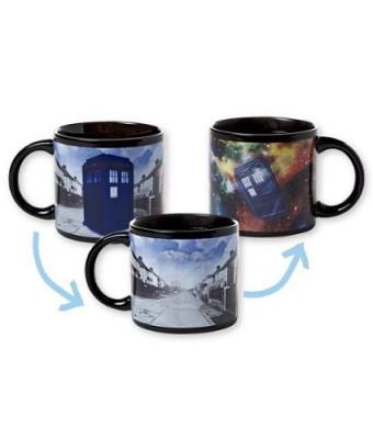 Doctor Who's Disappearing Tardis Mug
