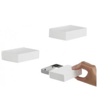 Umbra Showcase Shelves, White, Set of 3