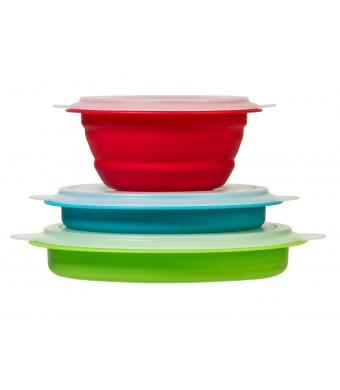Prepworks From Progressive International CB-20 Prep/Storage Bowls, Set of 3