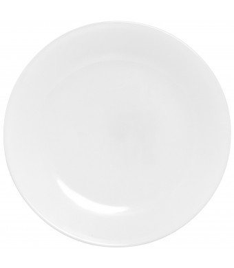 """Corelle Winter Frost 6-Pack Lunch Plates, White 8.5""""  / 21.6cm"""