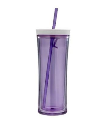 Contigo Shake and Go Tumbler, 20-Ounce, Lilac