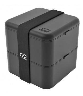 Monbento Square - The Square Bento Box (Black)