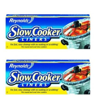 "Reynolds Metals 00504 Slow Cooker Liners 13"" X21""  - 2 Pack"