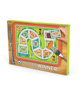 Fred and Friends DINNER WINNER Kids Plate