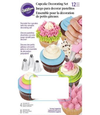 Wilton 2104-1364 12-Piece Cupcake Decorating Set