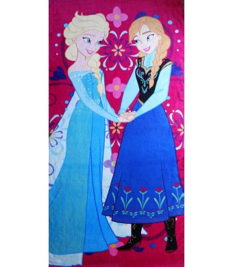 Disney Frozen Elsa and Anna Towel