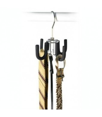 Swivel Belt Hanger - Black Friction