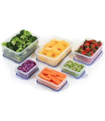 Stackit! - By Popit!, 6 Container Food Saver Set