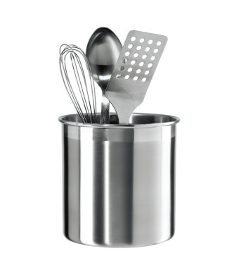 Oggi 7211 Stainless Steel Utensil Holder, Jumbo