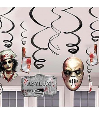 Shindigz Halloween Asylum Foil Swirl Value Pack