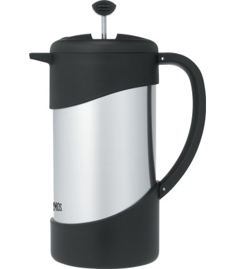 Thermos NCI1000SS4 Vacuum Insulated Stainless Steel Gourmet Coffee Press, 34-Ounce
