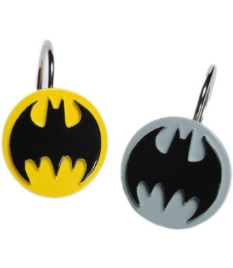 Batman Curtain Shower Hooks