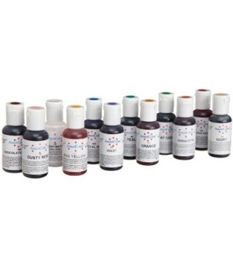Americolor Soft Gel Paste Food Color, Set of 12