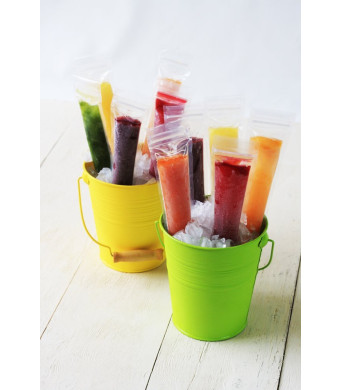 ZIPZICLE - (36 Pack) Zip-Top Ice Pop Pouch