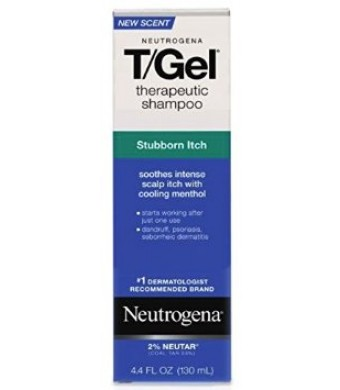 Neutrogena T/Gel Shampoo, Stubborn Itch Control, 4.4 Ounce
