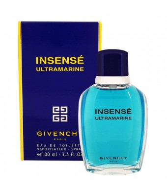 Insense Ultramarine by Givenchy for Men - 3.4 Ounce EDT Spray