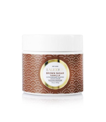 LaLicious Sugar Souffle Body Scrub 16 fl oz (Brown Sugar Vanilla)