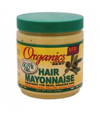 Africa's Best Organics Hair Mayonnaise, 15 oz