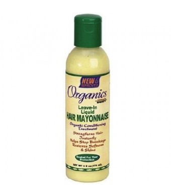 Africas Best Organics Hair Mayonnaise Leave-In Conditioner 6oz