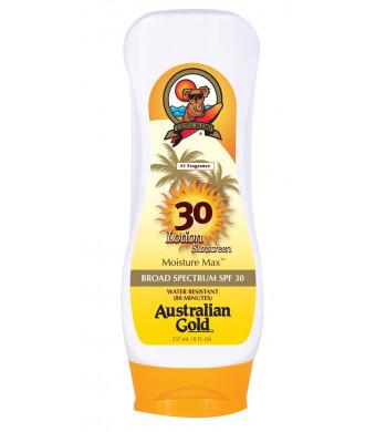 Australian Gold SPF 30+ Lotion, 8 Ounce