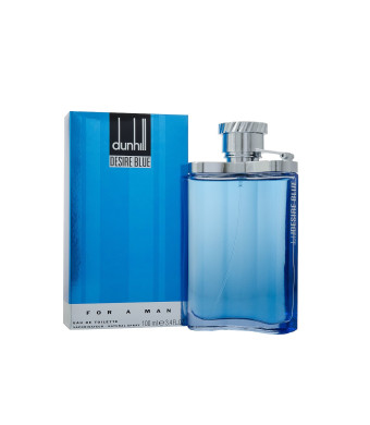 Desire Blue By Alfred Dunhill For Men, Eau De Toilette Spray (3.4 Ounces)