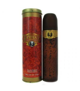 Cuba Gold By Cuba For Men. Eau De Toilette Spray 3.3 Ounces