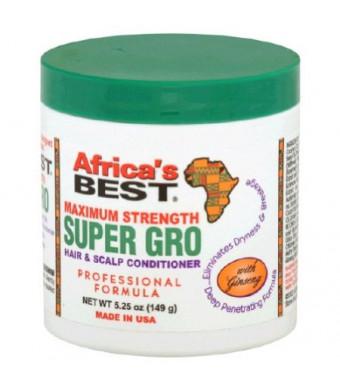 Africas Best Super Gro Hair and Scalp Conditioner 5.25oz