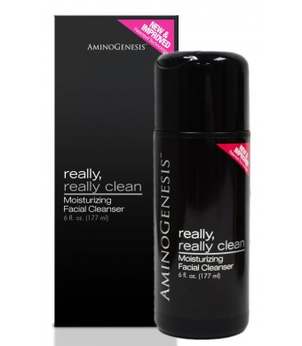 Aminogenesis Really Really Clean Cleanser, 6-Ounces
