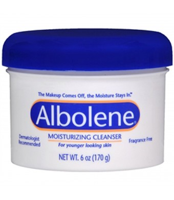 Albolene, Cleanser Cream Unscented - 6 oz