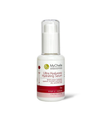 MyChelle Hydrating Serum, Ultra Hyaluronic, 1-Ounce Bottle