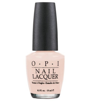 Opi Nail Lacquer, Bubble Bath, 0.5 Fluid Ounce