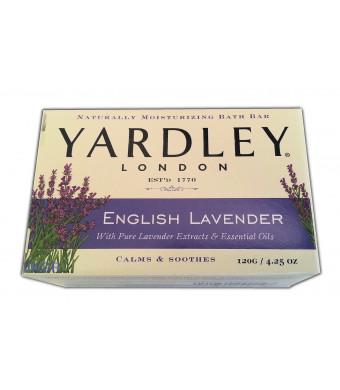 Yardley London English Lavender 4 Bar 4.25 oz