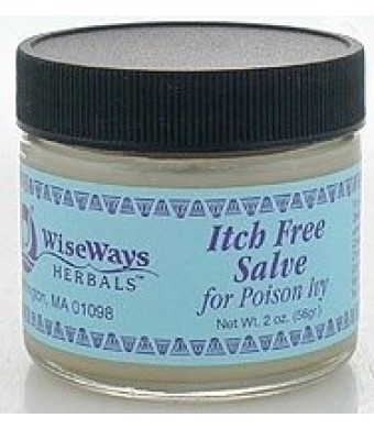 WiseWays Herbals: Salves For Natural Skin Care, Itch Free Salve 2 Oz
