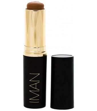 Iman Cosmetics Second To None Stick Foundation -- Clay 4