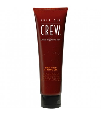 American Crew Firm Hold Styling Gel, Firm, 8.4 Ounce Tube