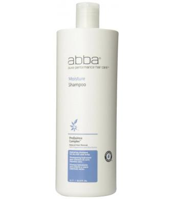 Abba Pure Moisture Shampoo, 33.8 Ounce