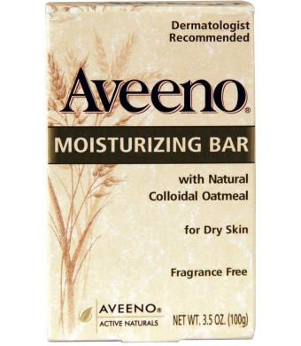 Aveeno Moisturizing Bar 3.5 Oz (6 Pack)