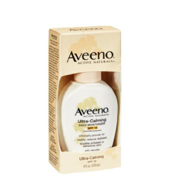 Aveeno Active Naturals Ultra-Calming SPF 15 Daily Moisturizer 4oz