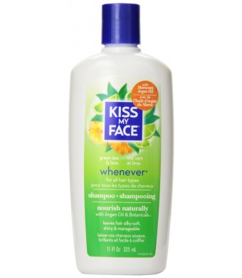 Kiss My Face Whenever Shampoo for Frequent Use, 11-Ounce Bottles (Pack of 3)