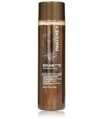 Pantene Pro-V Brunette Expressions Daily Color Enhancing Shampoo With Liquid Crystals 13 Oz (Pack of 3)