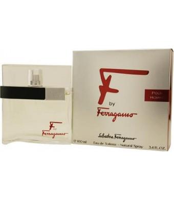 F Pour Homme by Salvatore Ferragamo 100ml 3.4oz EDT Spray