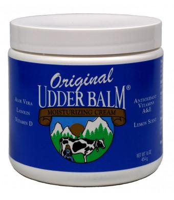 Original Udder Balm Moisturizing Cream 16oz Jar