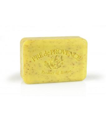 Pre de Provence Soap Shea Enriched Everyday 250 Gram Extra Large French Soap Bar - Lemongrass