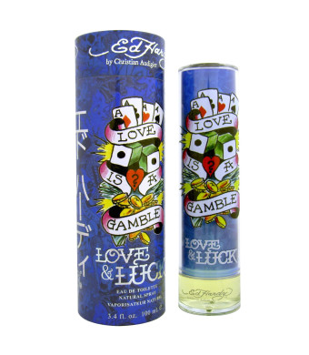 Ed Hardy Love and Luck for Men 3.4 oz 100 ml EDT Spray