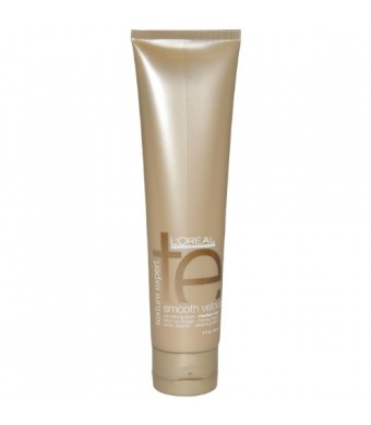 Texture Expert Smooth Velours Smoothing Lotion for Medium Hair by L'Oreal for Unisex Lotion, 5 Ounce