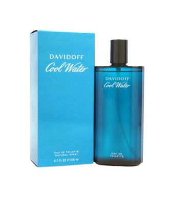Cool Water By Davidoff For Men Edt Spray 6.7 Oz